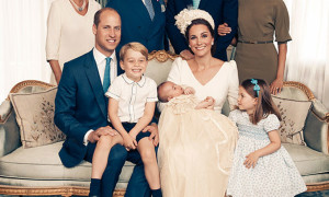The Royal Family gathered in July 2018 for the christening of Prince Louis